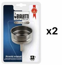 Bialetti Venus, Kitty, Musa Replacement Funnel, 6 Cup (Pack of 2)