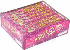 Bottle Caps Candy Rolls 24 Count Box Original Soda Pop Candies Bulk 2.65 lb Box
