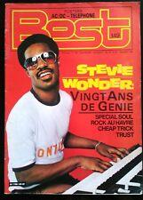 BEST n°149 du 12/1980; Stevie Wonder/ Trust/ Rock au Havre/ Cheap Trick