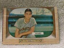 1955 BOWMAN PRESTON WARD SIGNATURE CARD #27