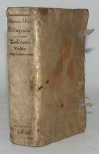 PALINGENIUS Manzoli zodiacus vitae poème latin zodiaque satire clergé 1606