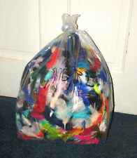 Big 1 Pound bag Marabou Feathers w Imperfections Mixed Colors Fly tying