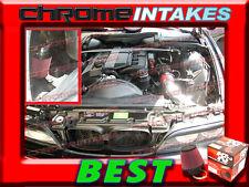 K&N+RED 01-03/2001 2002 2003 BMW 525 525i/530 530i i E39 I6 COLD AIR INTAKE KIT