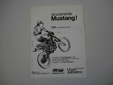 advertising Pubblicità 1979 MOTO SIMONINI MUSTANG 125