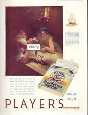 PLAYERS CIGARETTES IMPERIAL TOBACCO COMPANY GREAT BRITAIN WINDJAMMERS 1935 AD