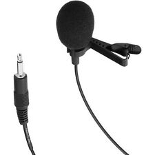 "Polsen PL-2WC Cardioid Lavalier Microphone with 1/8"""" (3.5 mm) Connector"