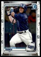 2020 Bowman Chrome Prospects II #BCP-1 Wander Franco - Tampa Bay Rays