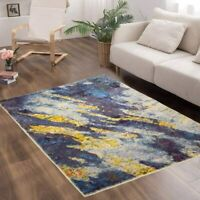 Soft and Plush Ombre Shag Rug Modern Abstract Colorful Area Rug Super Soft 3'x5'