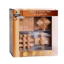 Giochi In Legno Rompicapo Stella Cubo Croce Griglia Gioco Di Abilità Mentale