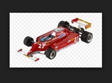 Ferrari 126CK  G.Villeneuve GP Monaco 1981 T6269  1/43 Hot Wheels Elite