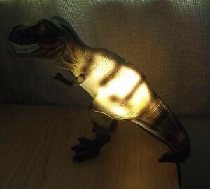 T Rex Dinosaur Table Lamp Night Light Plug In
