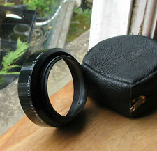 genuine  asahi  PENTAX 49mm screw in plastic lens hood for 50mm f1.4