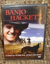 BANJO HACKETT DVD, NEW AND SEALED, RARE AND HARD TO FIND, WITH DON MEREDITH