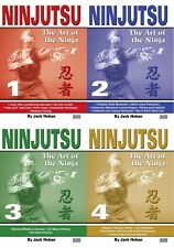4 DVD SET Ninjutsu Art of the Ninja Secret Techniques - Shidoshi Jack Hoban