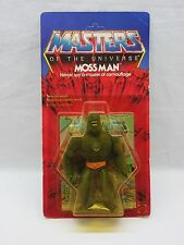 MOTU,VINTAGE,MOSS MAN,HARD HEAD,Masters of the Universe,MOC,carded,sealed,He-Man