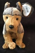 Ty Brown Sarge Dog Beanie Baby 2000