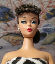 NEW 2005~VTG.1959 BARBIE REPRODUCTION DOLL~DeBoxed from *PICNIC SET*~CURLY BANGS