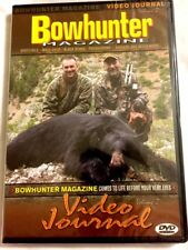 Brand New DVD ~ Bowhunter Video Journal ~ ~ Fast Shipping ~ ~ NEW DVD