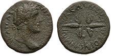 Ancient Rome 138-161 AD ANTONINUS PIUS KOINON MACEDON THUNDERBOLT