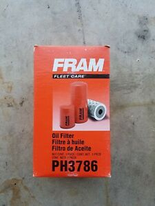 Lot of 12 Fram PH3786 Engine Oil Filter FORD 7.3 DIESEL Powerstroke Made in USA