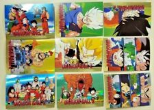 2000 Dragon ball Z Ripple Chase Card Set S1-S9 RARE Total 9 cards set