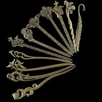 Women Vintage Hair Pin Hairpins Hair Stick Jewelry Classic Hairwear Natural Wood