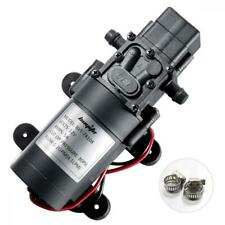 bayite 12V DC Fresh Water Pump with 2 Hose Clamps 12 Volt Diaphragm Self...