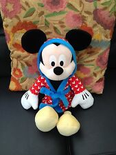 "Disney Mickey Mouse Clubhouse Mickey Mouse in Dressing Gown 16"" Soft Plush Toy"