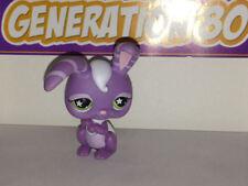 Littlest PetShop Lapin Violet Etoiles Dans Les Yeux N°828 RABBIT