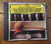 "Haydn - Symphonies No. 94 ""Surprise"" & 101 ""The Clock"" CD DG, Karajan"