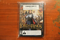 Lord of the Rings The Return of the King! PS2!