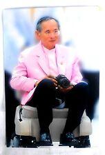 Bild picture König King Bhumibol Adulyadej RAMA IX Thailand 15x10 cm  (s21