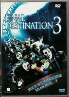 FINAL DESTINATION 3 (2006) un film di James Wong DVD EX NOLEGGIO - EAGLE