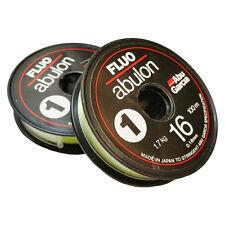 Abu Garcia FLUO ABULON Mono Fishing Line-100m x 2-spools(UNCUT) 0.16mm / 3.75 lb