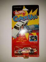 Hot Wheels Crack-Ups Knocker Stocker. White. Hong Kong Base. 1985 Mattel. (P-4)