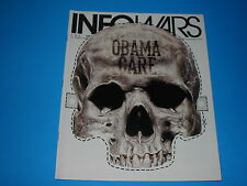 Alex Jones Infowars Magazine Oct October  2013 Vol 2 # 2 Halloween Masks Obama C