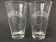 2x Baileys Irish Cream Glas Gläser Longdrink  Cocktail Gastro 2er Set