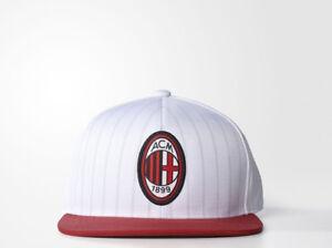 adidas AC Milan Flat-Brim Cap New