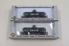 2 Proto 2000 Series 10,000 Gallon Type 21 Riveted Tank Car MPLX #23171 & #23358