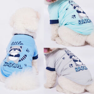 Summer Pet Puppy Small Dog Cat Pet Clothes Vest T Shirt Poodle Apparel Clothes