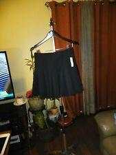 Attention Womens Skirt  Black Pleated Size Medium