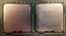 MATCHED PAIR INTEL XEON X5650 2.66GHZ 6 / 12 core CPU SLBV3 -  FREE UK & EU SHIP