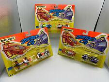 Matchbox Zero G Diecast Lot Anti Grav Flex Racer Torque Spin 3 New In Package
