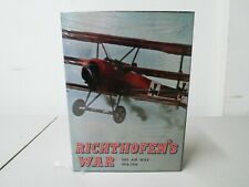 Richthofen's War Board The Air War 1916-1918 Game New Factory Sealed Bottom Rip