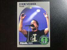PEARL JAM Seattle Home Shows TRADING CARD: EDDIE VEDDER! MINT not poster Wrigley