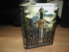 Brian Staveley - Skullsworn Signed Ltd Numbered 1st x/150 Unhewn Throne trilogy