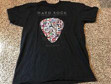 Hard Rock Brussels T Shirt Size L Black A8