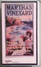 MARTHAS VINEYARD AN ISLAND LOVED carly simon VHS VIDEOTAPE