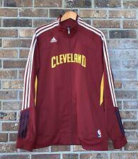 Adidas Cleveland Cavaliers Cavs Warmup Jacket Basketball Track Mens XL