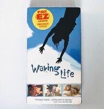 new Waking Life Vhs Video Movie Fox Ez Lease Screener Sealed Richard Linklater